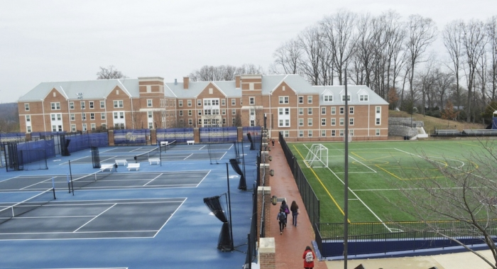 Athletic Field and Tennis Courts