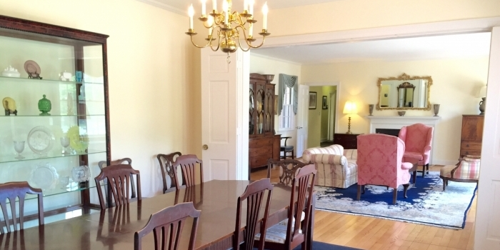 Webb Building Dining and Living Rooms